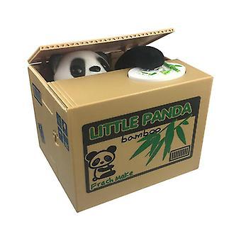 Mynt stjele panda penger bank