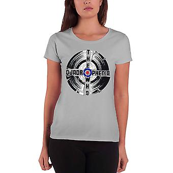 The Who Quadrophenia New Official Womens Skinny Fit T Shirt