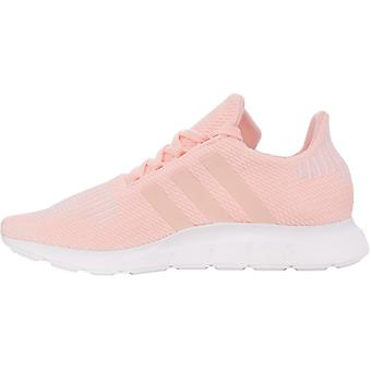 adidas Originals Juniors Girls Swift Run Casual Lace Up Trainers Shoes - Pink