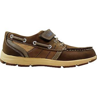 Clarks Un.Buoy TID Brown Leather 61865 Pre-School