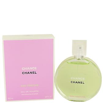 Chans av Chanel Eau Fraiche Spray 3,4 oz/100 ml (kvinnor)