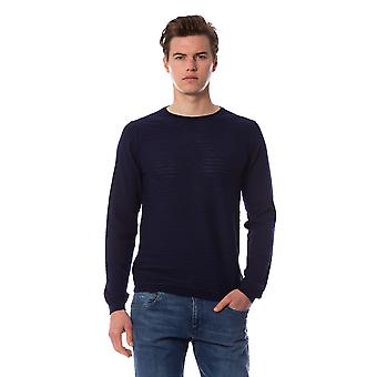 Trussardi Man Blue Pullover