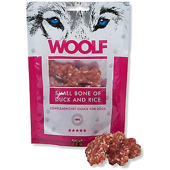 Woolf Small Bone of Duck and Rice (Dogs , Treats , Natural Treats)
