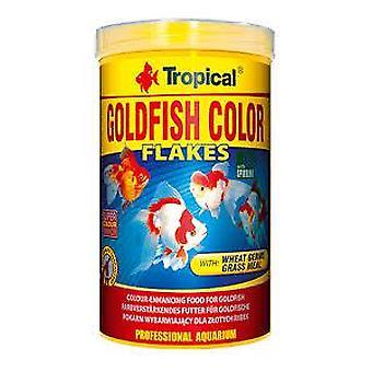 Tropiska guldfisk färg 250 Ml (fisk, mat, kallt vatten)