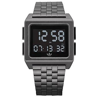 Adidas archive_m1 Digital Men's Watch with Stainless Steel Bracelet Z011531-00