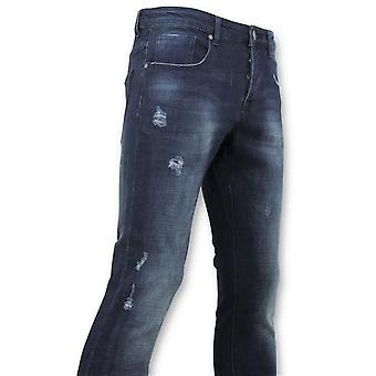 Basic Jeans - Man Jeans Washed - D3017 - Blue