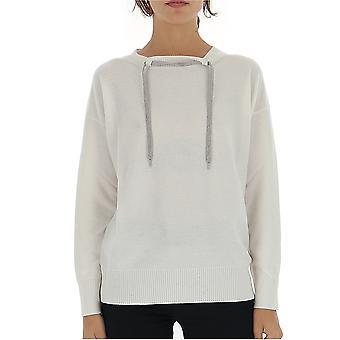 Fabiana Filippi Mad129b945b109061 Women's White Wool Sweater