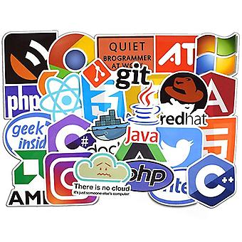 Stickers, 50 pack-Coder #2