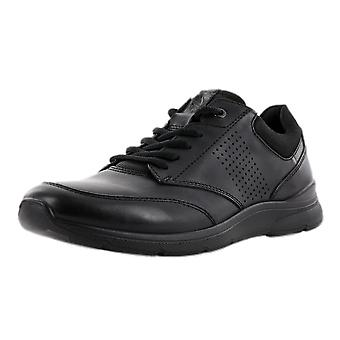 ECCO 511734 Irving Men's Lace-up Shoes In Black