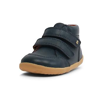 Bobux step up navy blue timber shoes