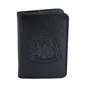 Newcastle United FC Official Football Gift Reliëf Crest Lederen Travel Wallet