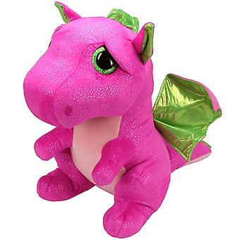 TY Beany Boos Darla Pink Dragon Large stuffed animal plush soft 42cm
