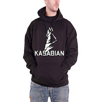 Kasabian Ultra Face Official Mens New Black Pullover Hoodie