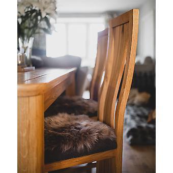 Nordvek Luxury Natural Shape Sheepskin Seat Pad - Short Hair Chair Cover - 35x42cm # 9020-100