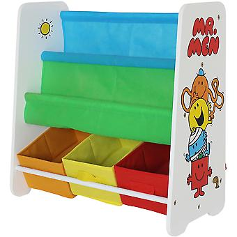 Kiddi Style Mr Men Book Shelf