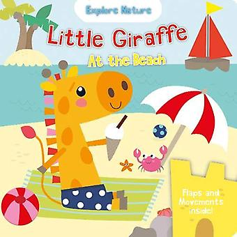 Little Giraffe at the beach by Nick Ackland - 9781912738946 Book