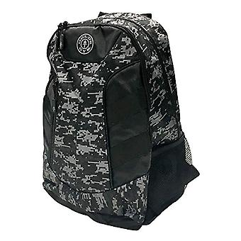 Gold's Gym - Unisex Mimetic Backpack - Black and Grey - One Size
