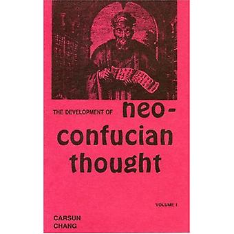 Development of Neo-Confucian Thought by Carsun Chang - 9780808401056