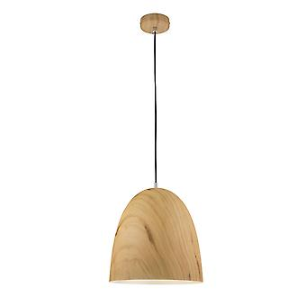 Wofi Liam - 1 Light Pendant Light Wooden - 6429.01.51.7000