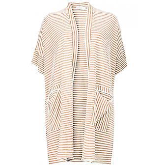 Masai Clothing Laurena Stripe Knit Cardigan