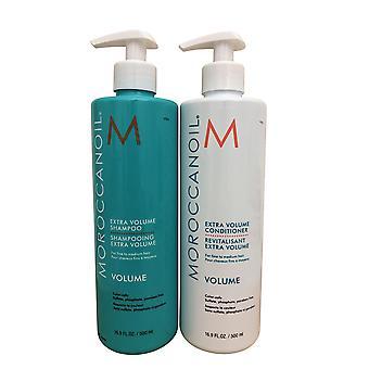 Moroccanoil Extra Volume Shampoo & Conditioner DUO 16.9 OZ Each