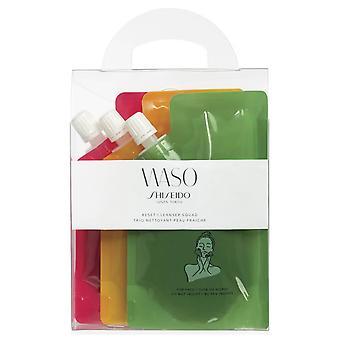Shiseido Waso Reset Cleanser Squad 3x70ml