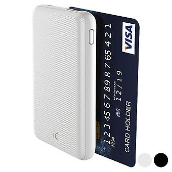 Power Bank KSIX Slim 5000 mAh USB/Black