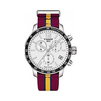Tissot T095.417.17.037.13 Quickster NBA Teams Cleveland Cavaliers Chronograph Men's Watch