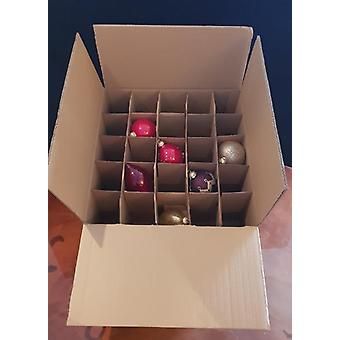 455m x 455mm x 230mm | Double Wall Ale Small Bottle Moving Storage Postage Box | 10 Pack