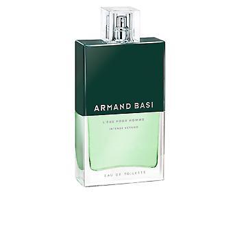Armand Basi L'Eau Pour Homme Intense Vetiver Edt Spray 75 Ml Per Gli uomini