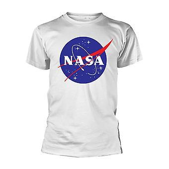 Nasa Insignia Logo (Wit) Officiële T-shirt Mens Unisex