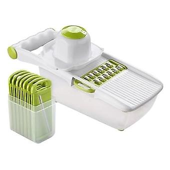 Multifunctional Mandoline Slicer Vegetable Cutter With Stainless Steel Blade Potato Carrot Grater Kitchen Tool Manual Dicer