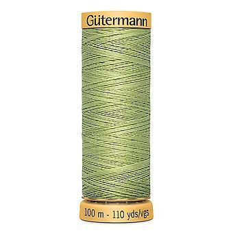 Gutermann 100% natural cotton thread 100m hand- en machinekleurcode - 9837