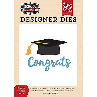 Echo Park Félicitations Grad Cap Dies