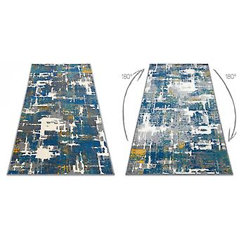 Rug GINA 21241451 Abstraction blue / beige / grey