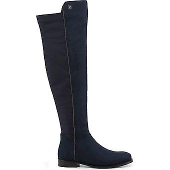 Laura Biagiotti - chaussures - bottes - 5864-19_MICRO-LYCRA_BLUE - dames - marine - UE 36