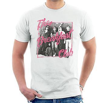 The Breakfast Club B & W skolan skåp foto män ' s T-shirt