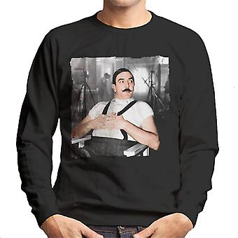 Albert Finney als Poirot: Murder On The Orient Express Herren Sweatshirt