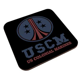 USCM Colonial Marines Aliens Coaster