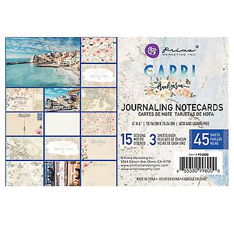 Prima Marketing Capri 4x6 Inch Journaling Cards