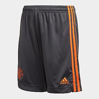 adidas Manchester United Maalivahti Shortsit Junior Boys
