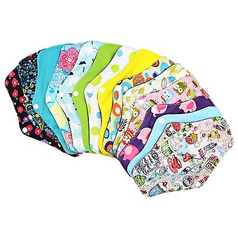 2pcs Washable Menstrual Pad - Waterproof ,reusable, Bamboo Sanitary Cotton