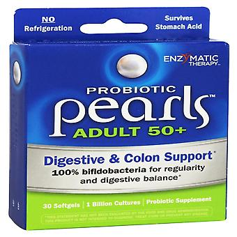 Enzymatic Therapy, Probiotic Pearls Adult 50+, 30 Softgels