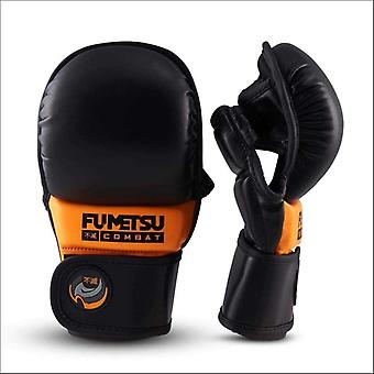 Fumetsu ghost kids mma sparring handske svart/orange