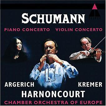 R. Schumann - Schumann: Piano Concerto; Violin Concerto [CD] USA import