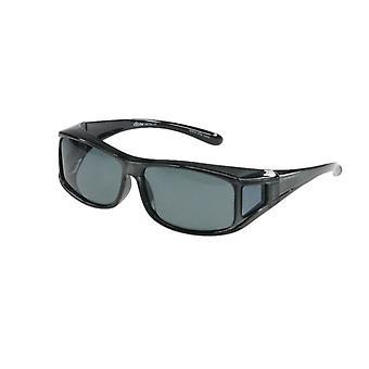 Sonnenbrille Unisex transfer  grau   grüne Linse Vz0001pg