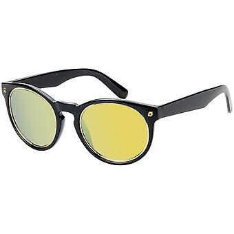 Sonnenbrille Unisex  mit Spiegelglas schwarz   (AZ-17-218)