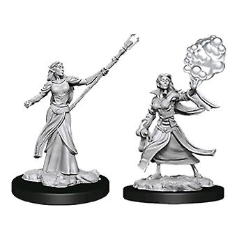 D&D Nolzur's Marvelous Unfnted Minis Female Elf Sorcerer