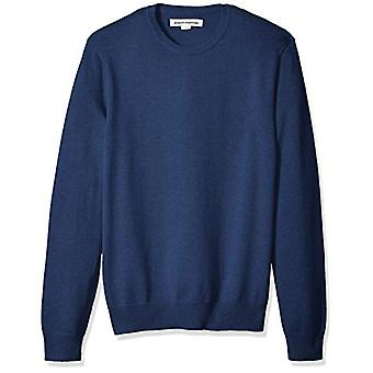 Essentials Menn's Crewneck Genser, Blå Heather, X-Large