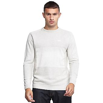 La police fusionne 7212 Ribbed Crew Knitwear Jumper